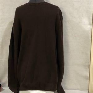 St. John's Bay Brown Sweater Size Large